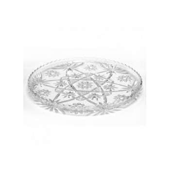 18″ Round Glass Tray
