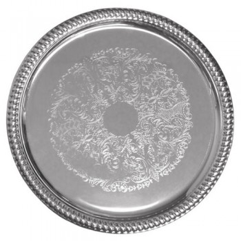 18″ Round Tray (Stainless...