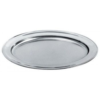 30″ Large Round Tray s/s