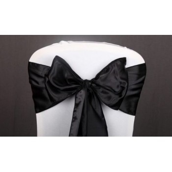 Sash Satin – Black