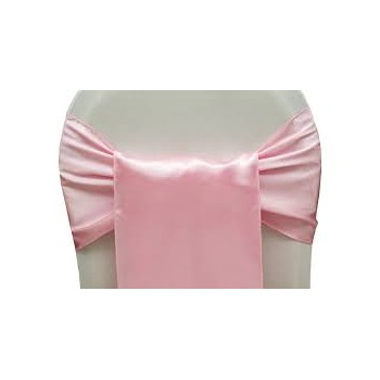 Sash Satin – Light Pink