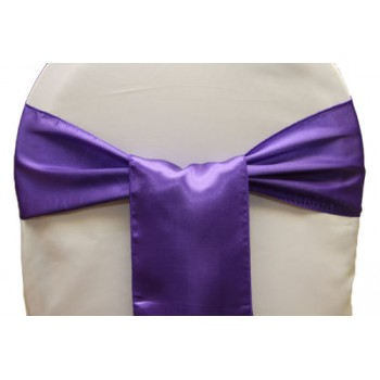 Sash Satin – Purple