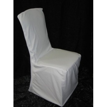 Chair Cover White (rect. Back)