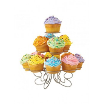 3 Tier Wire Cupcake Stand