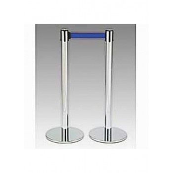 One Stanchion Pole W/ Blue...