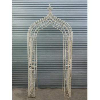 Wrought Iron Arch – Pointed