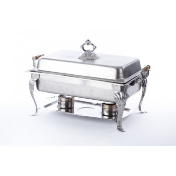 7qt. Chafer (rect) Fancy