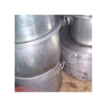 Large Flat Cooking Pots 100...