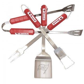 Bbq 4pc Utensil Set