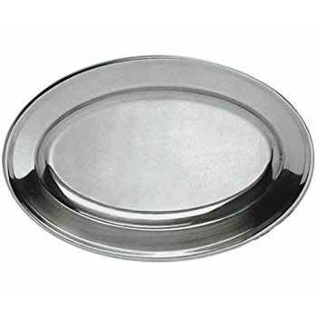 18″ Oval Platters s/s