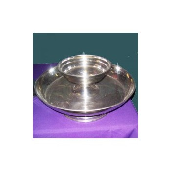 Vegetable Tray W/dip Bowl S/s