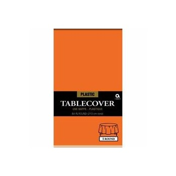 84″ Rd Plastic Tablecover –...