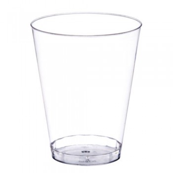 Plastic Cups 8oz Clear (50-Pk)