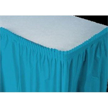 Table Skirting Plastic – Teal