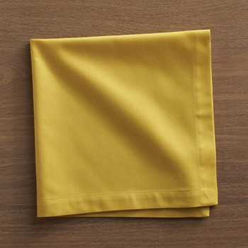 Dinner Napkin – Mustard Yellow
