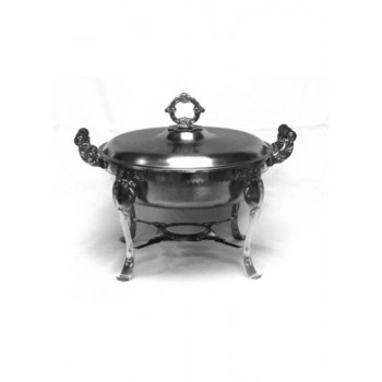 3qt Chafer (round) Fancy