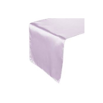 Table Runner Satin – Lavender