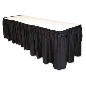 Table Skirting (black) Per ft