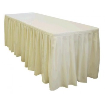 Table Skirting (ivory) Per ft