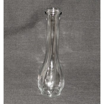6 or 9 inch Clear Bud Vase
