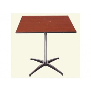 30″x 30″ Cake Table