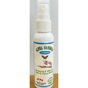 Alpha Hand-Rub Sanitizer 60 ML