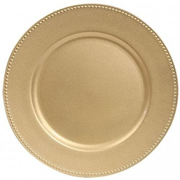 13'' Gold Charger Plates w/...