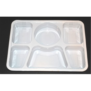 6 Compartment Plates Light...