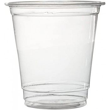 8 OZ Clear Plastic Cups...